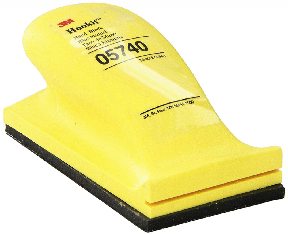 3M Hookit Hand Block 70mm x 127mm (Box of 10)